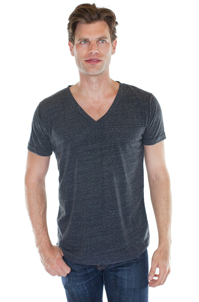 20055 - Unisex Triblend V-Neck