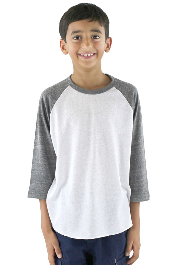 20260 - Youth Triblend Raglan Baseball Shirt
