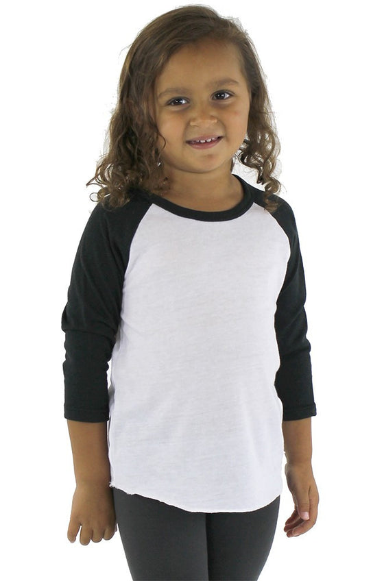 20660 - Toddler Triblend Raglan Baseball Shirt