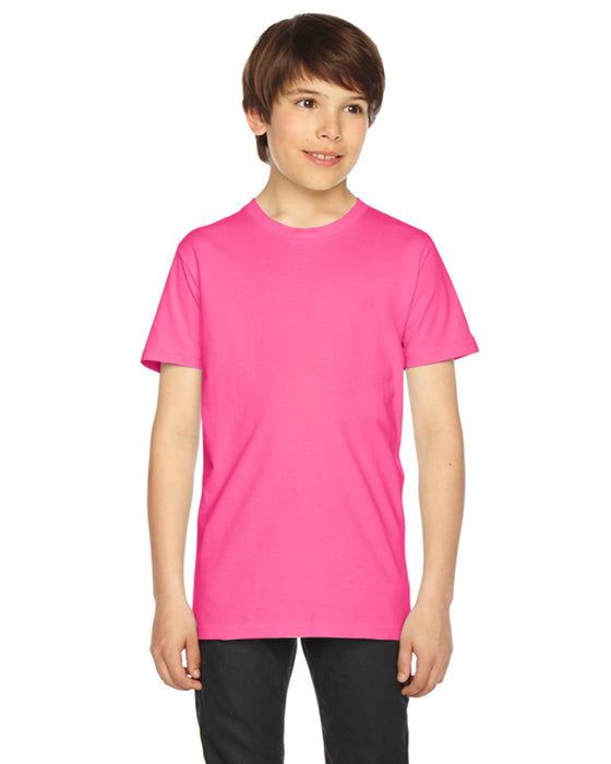 2201 - AA Youth Fine Jersey USA Made Short-Sleeve T-Shirt