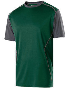 222201 - Holloway Youth Polyester Training Piston Shirt