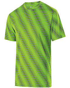 222203 - Holloway Youth Polyester Short Sleeve Training Torpedo Shirt