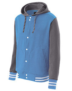 222288 - Holloway Youth Poly/Cotton Fleece Accomplish Jacket