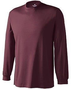 222521 - Holloway Adult Polyester Long Sleeve Spark 2.0 Shirt