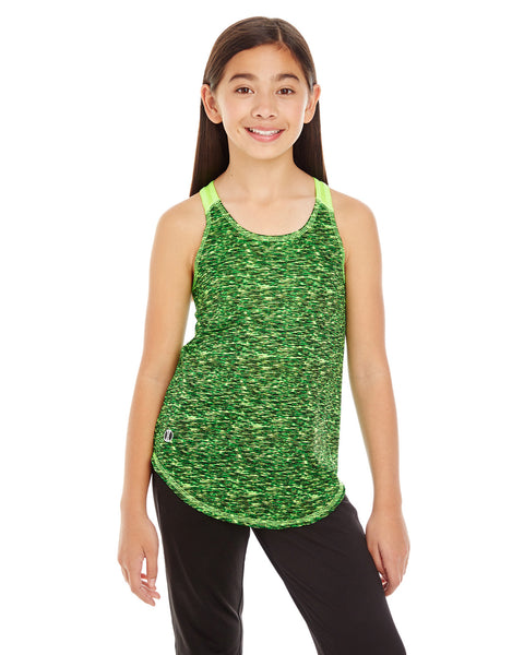 222933 - Holloway Girl's Space Dye Tank