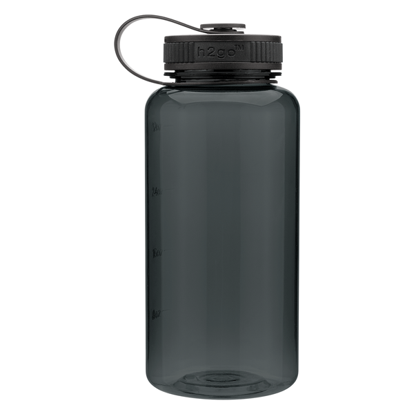 22344 - Graphite 34 oz h2go wide water bottle