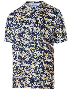 228101 - Holloway Adult Polyester Short Sleeve Erupt 2.0 Shirt