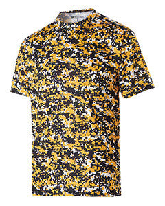 228201 - Holloway Youth Polyester Short Sleeve Erupt 2.0 Shirt