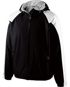 229111 - Holloway Adult Polyester Full Zip Hooded Homefield Jacket