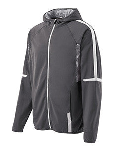 229151 - Holloway Adult Polyester Full Zip Hooded Fortitude Jacket