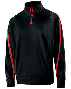 229192 - Holloway Adult Polyester 1/4 Zip Determination Pullover