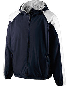 229211 - Holloway Youth Polyester Full Zip Hooded Homefield Jacket