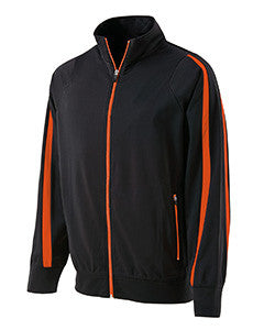 229242 - Holloway Youth Polyester Full Zip Determination Jacket