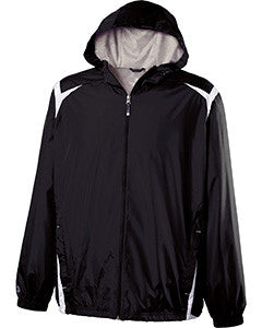 229276 - Holloway Youth Polyester Full Zip Hooded Collision Jacket