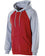 229279 - Holloway Youth Cotton/Poly Fleece Banner Hoodie