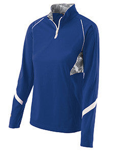 229324 - Holloway Ladies' Polyester 1/4 Zip Tenacity Pullover