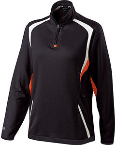 229337 - Holloway Ladies' Polyester 1/4 Zip Transform Pullover