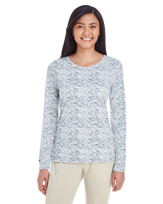 229365 - Holloway Ladies' Space Dye Long-Sleeve T-Shirt