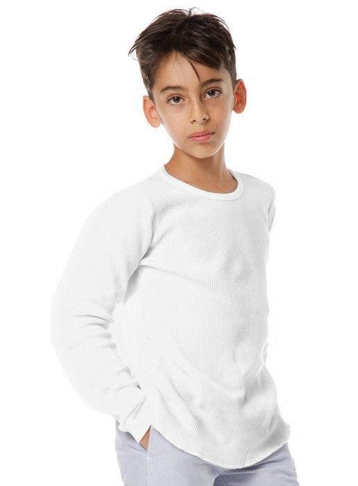 23122 - Youth 50/50 Long Sleeve Thermal