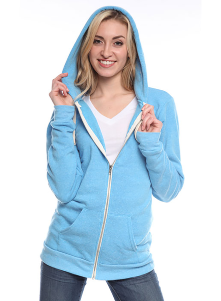 25050 - Unisex Triblend Fleece Zip Hoody