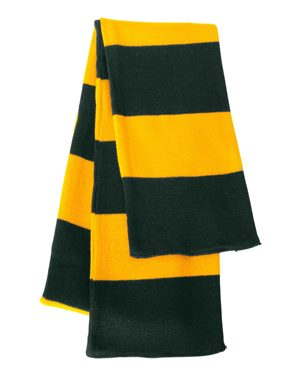 SP02 - Rugby Striped Knit Scarf