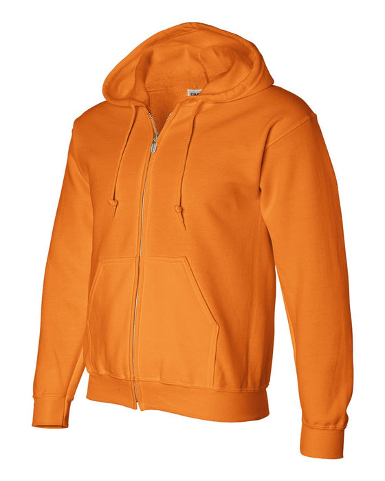 12600- DryBlend Hooded Full-Zip Sweatshirt