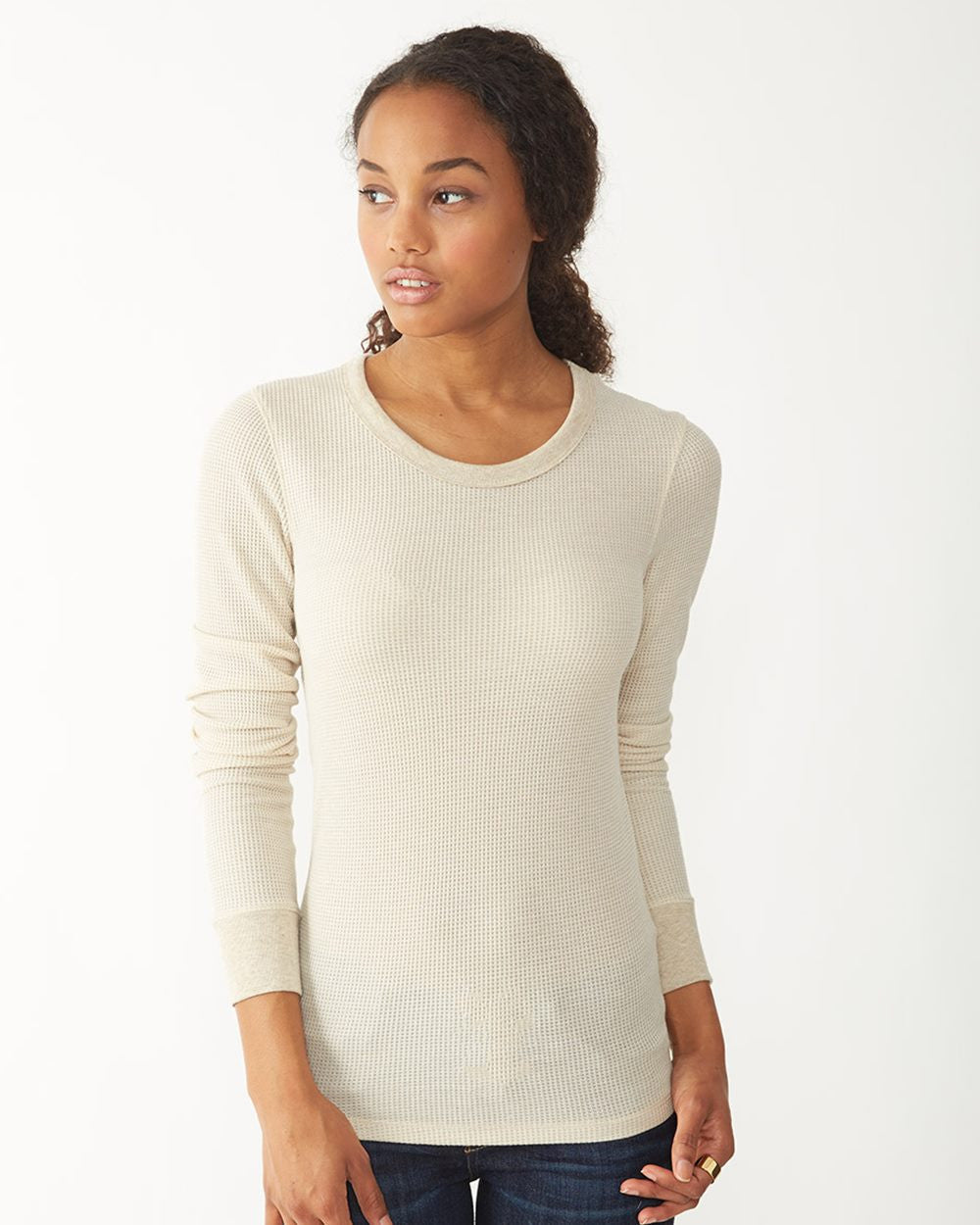 4305-Women's Cozy Long Sleeve Eco Thermal