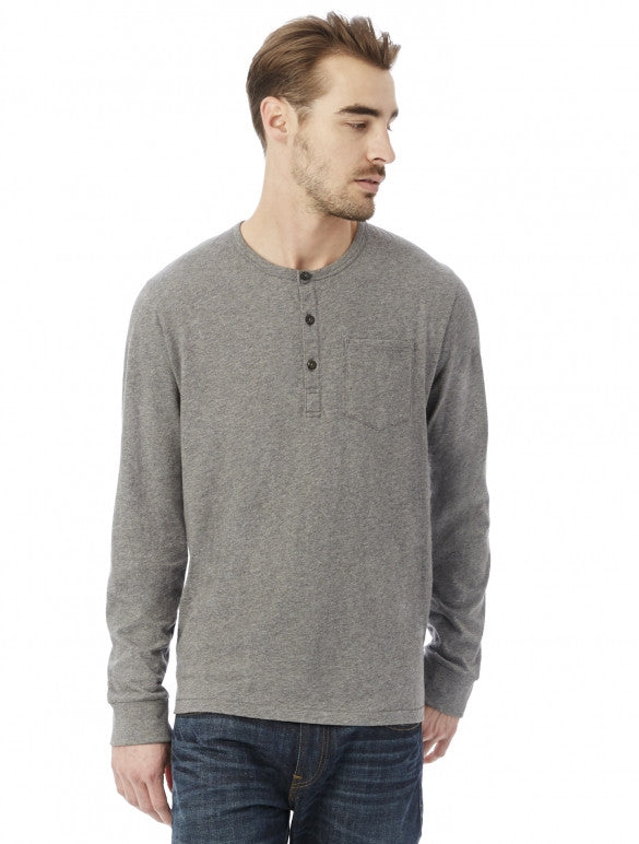 2880P1 - Alternative Men's Organic Pima Cotton Classic Henley