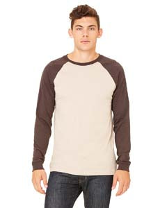 3000C Men's Jersey Long-Sleeve Baseball T-Shirt