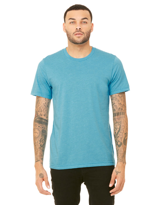 3001CVC - Unisex Short Sleeve Heather Jersey Tee
