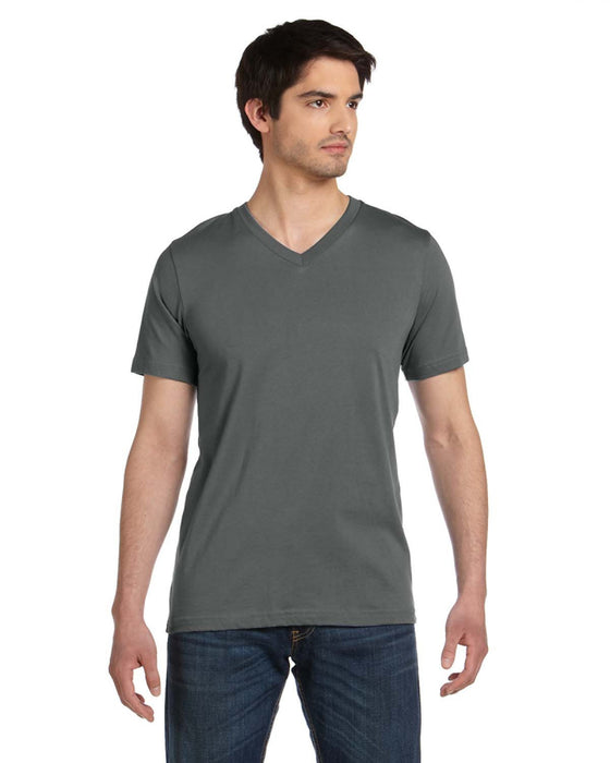 3005U - Bella + Canvas Unisex Made in the USA Jersey Short-Sleeve V-Neck T-Shirt