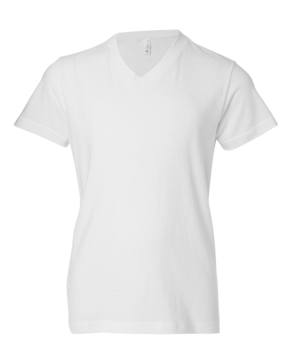 3005Y - Youth Short Sleeve V-Neck Jersey Tee