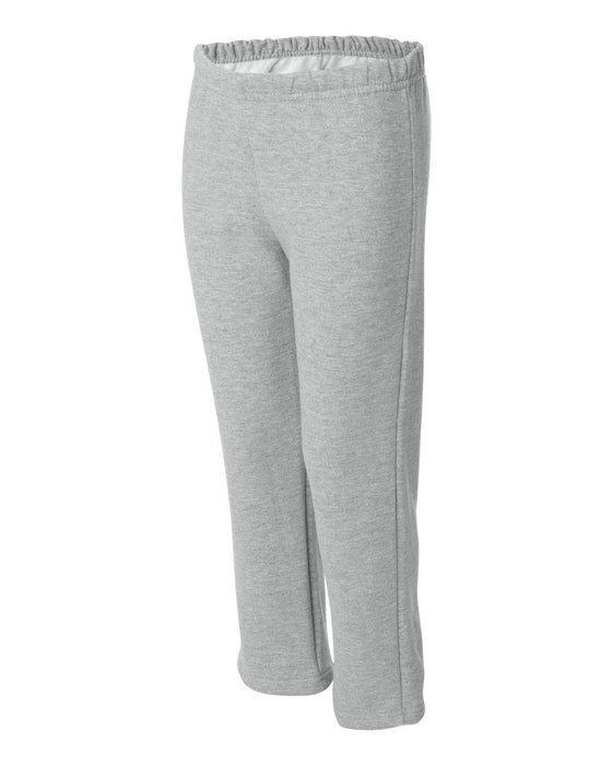 18400B- Heavy Blend Youth Open Bottom Sweatpants