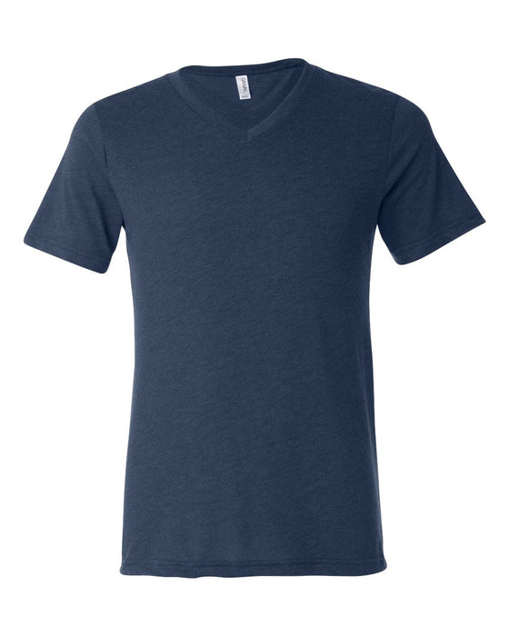 3415 - Unisex Triblend Short Sleeve V-Neck Tee