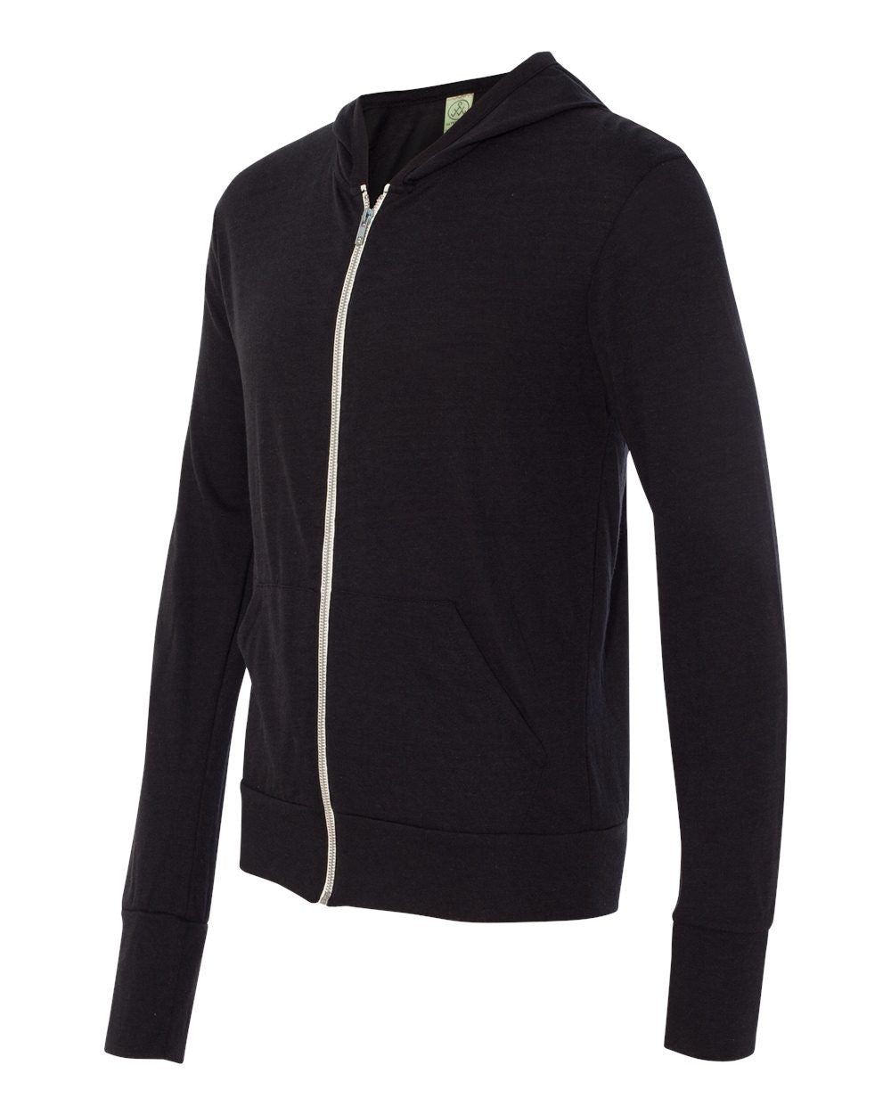 1970e1-Eco-Jersey Hooded Full-Zip