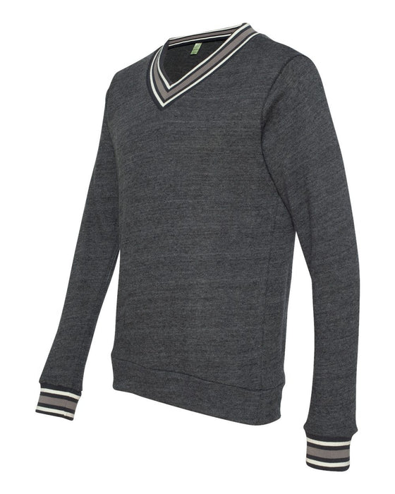 9594 - Eco Cashmere V-Neck Sweathshirt