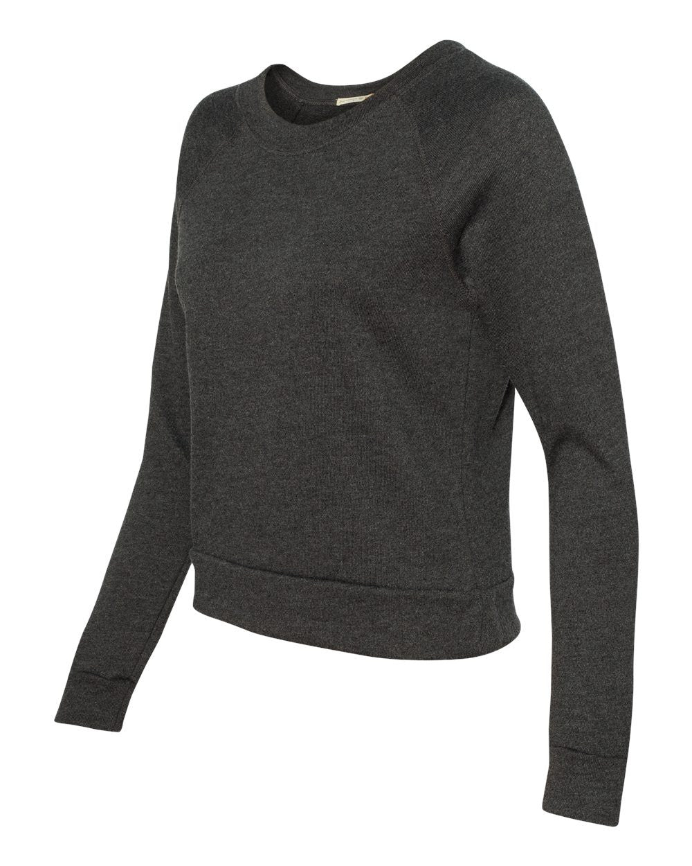 9820-Women's French Terry Raglan Sweatshirt