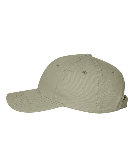 VC250- Unstructured Heavy Brushed Twill Cap