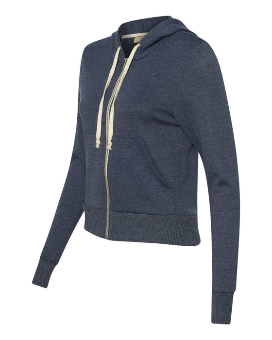 9821 - Women's French Terry Hooded Full-Zip