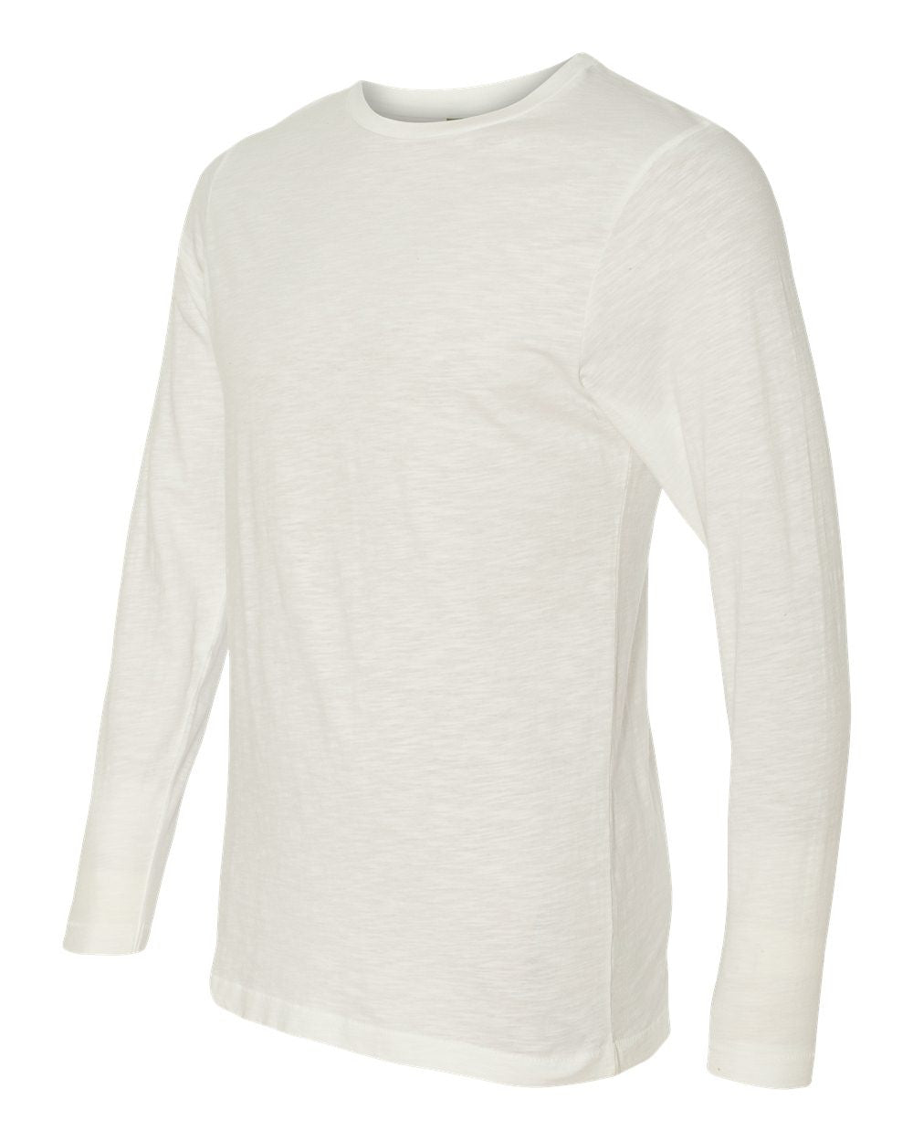 4847-Joey Slub Long Sleeve Crewneck T-Shirt
