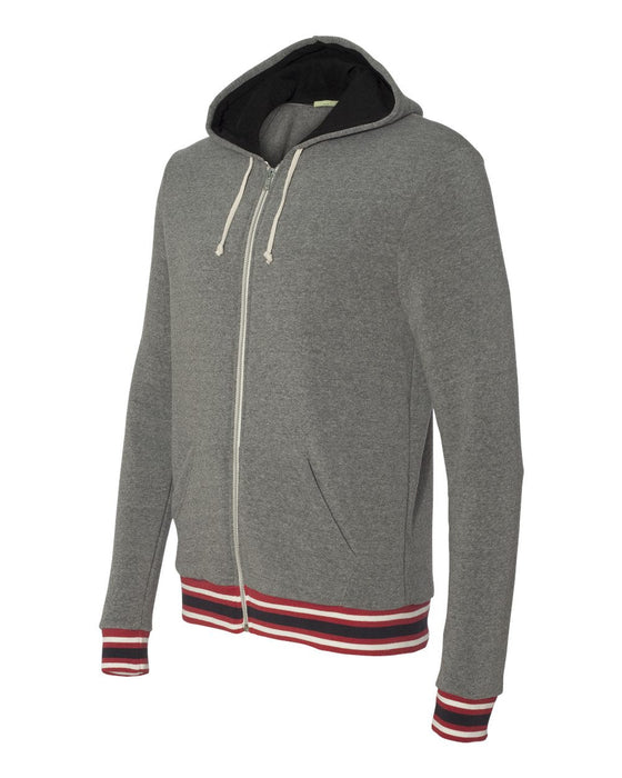 42124- Eco-Fleece Woody Full-Zip Hooded Sweatshirt