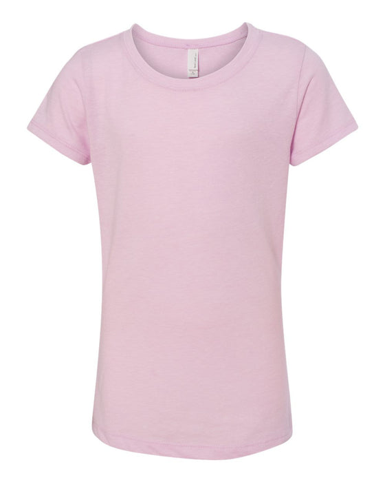 3712 - Girls' Princess CVC Tee