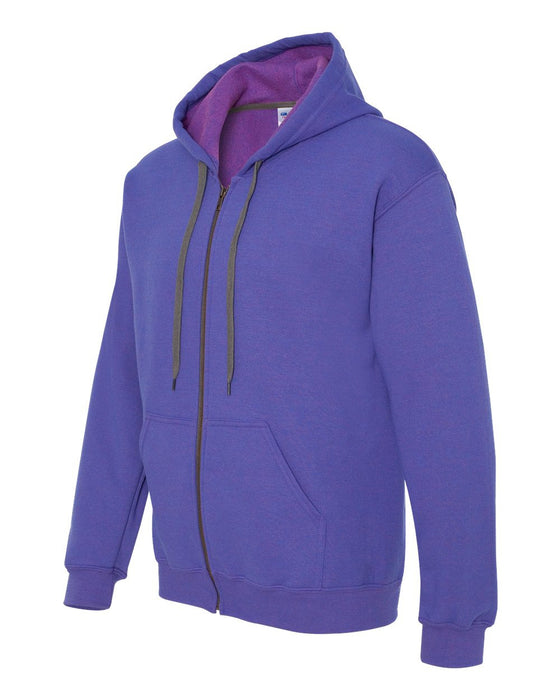18700- Heavy Blend Vintage Classic Full-Zip Hooded Sweatshirt