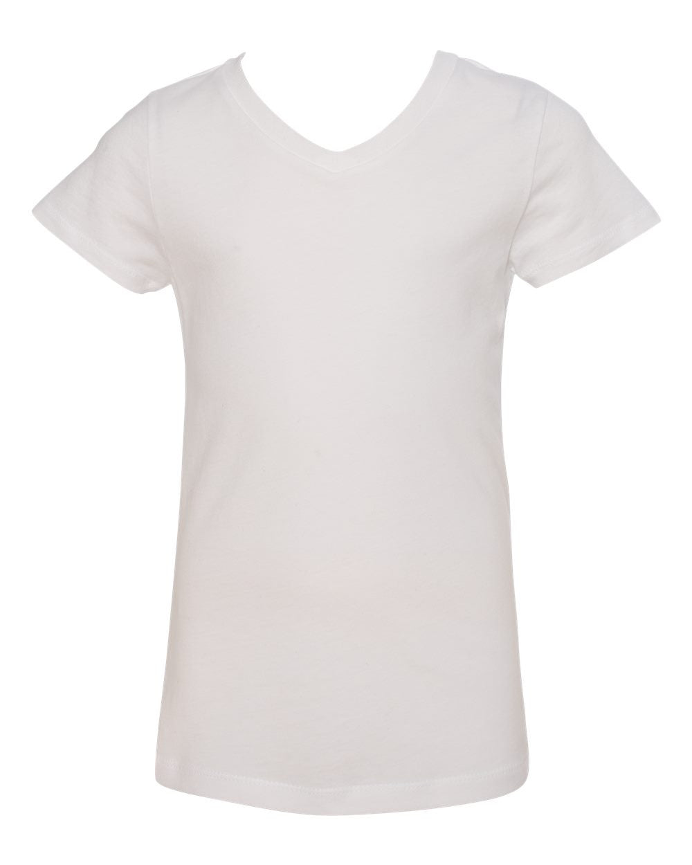 3740 - Girls' Premium Jersey The Adorable V