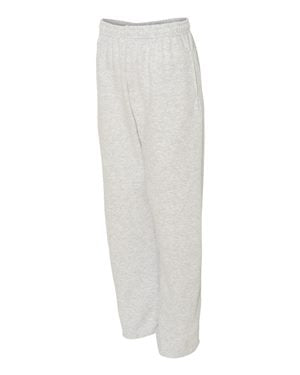 974MP Jerzees Adult 8 oz. NuBlend® Open-Bottom Fleece Sweatpants