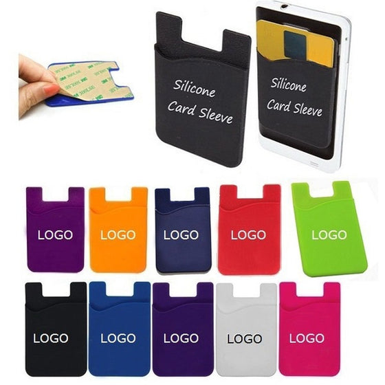 DWT9399 - Silicone Card Sleeve/ Phone Wallet