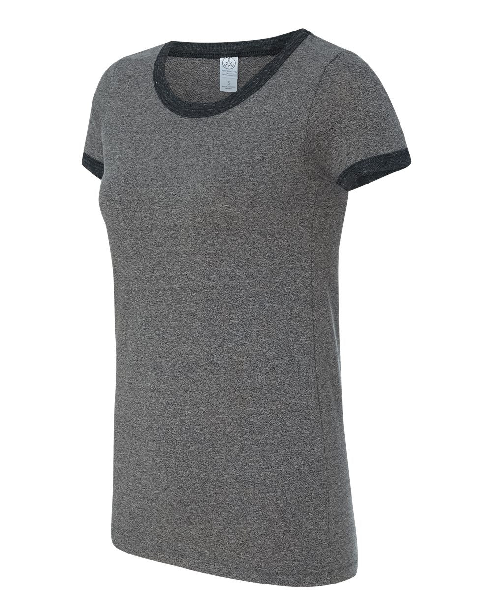 1913- Women's Eco Mock Twist Ideal Ringer Tee