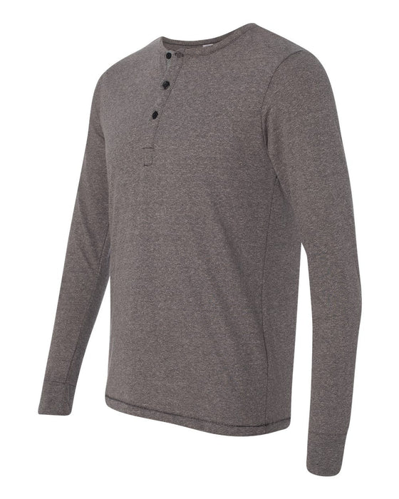1947 - Eco-Mock Twist Long Sleeve Henley