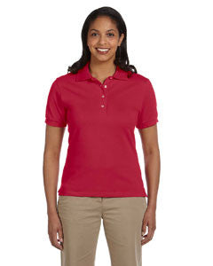 440W - Jerzees Ladies' 6.5 oz. Ringspun Cotton Piqué Polo