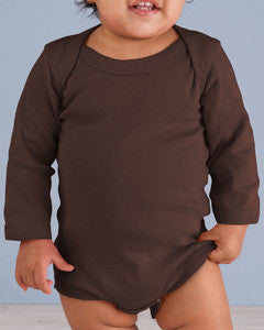 4411 - Rabbit Skins Infant Long-Sleeve Baby Rib Bodysuit